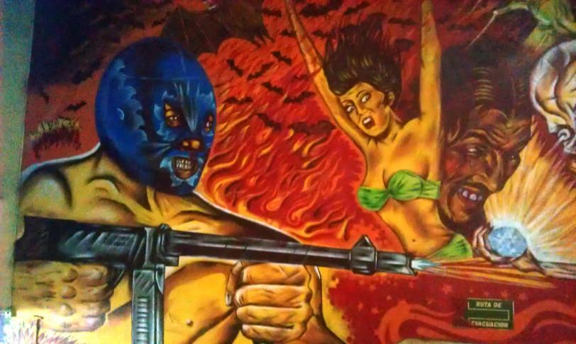 Lucha Libre mural, Arena México